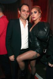 Lady Gaga and John Travolta - Interscope GRAMMY After Party in Los Angeles, 2/12/ 2017