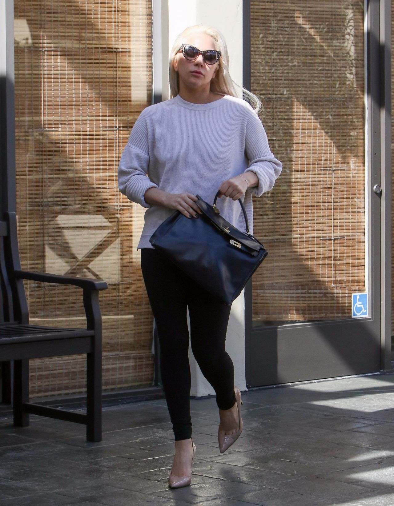 Lady gaga night time out fashion beverly hills new picture