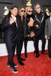 Lady Gaga on Red Carpet – GRAMMY Awards in Los Angeles 2/12/ 2017