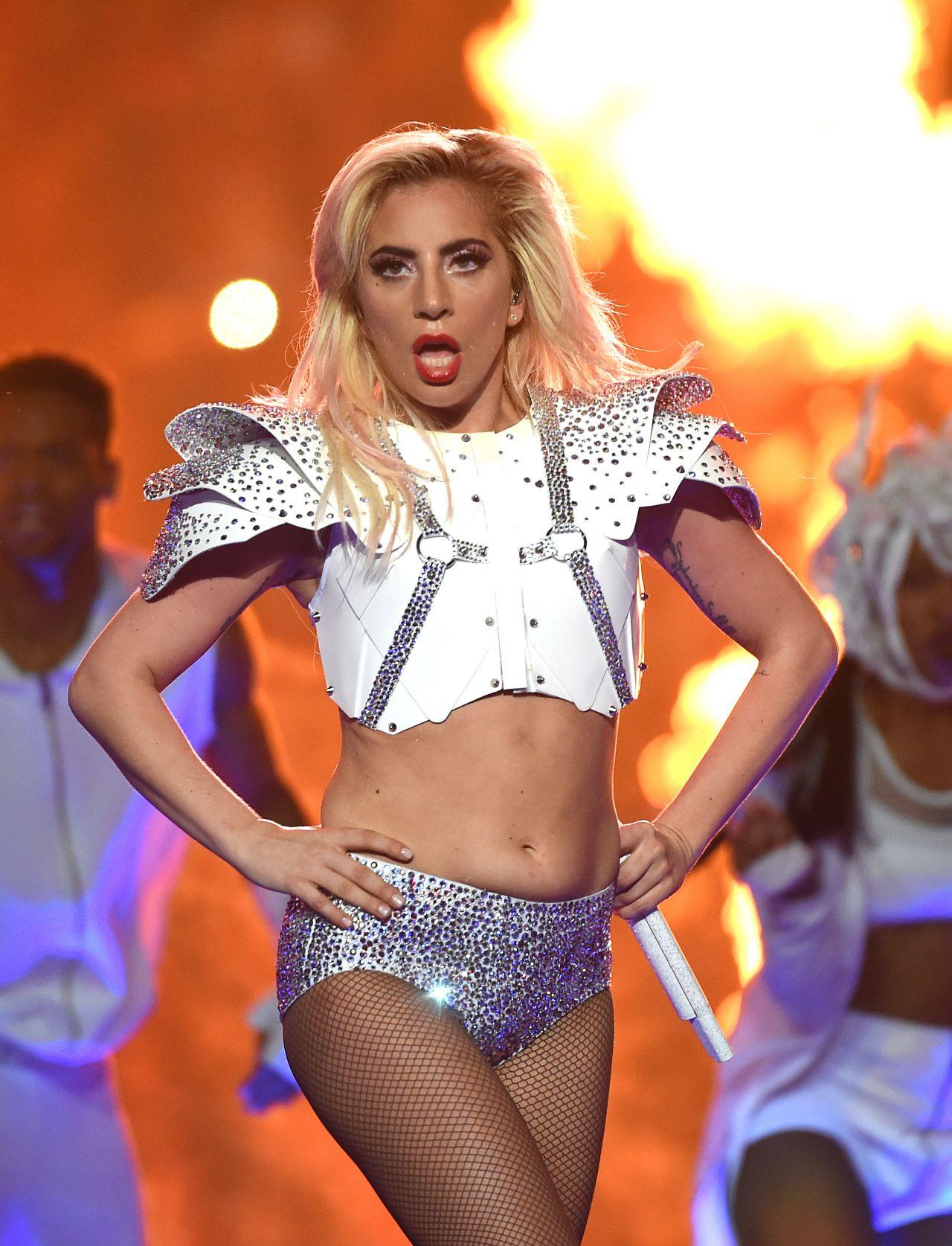 Lady Gaga - Super Bowl LI Halftime Show in Houston, Texas 2/5/ 2017