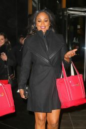 Laila Ali - Out and About in New York 2/7/ 2017