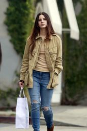 Lana Del Rey - Shopping on Melrose Avenue in Los Angeles 2/6/ 2017