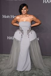 Laura Govan at amfAR New York Gala Red Carpet, 2/8/ 2017