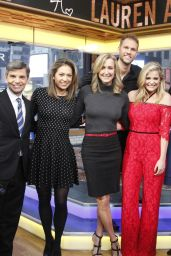 Lauren Alaina - Good Morning America in New York, January 2017