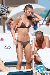Lauren Ashley Hot in Bikini - Miami Beach, 1/31/ 2017