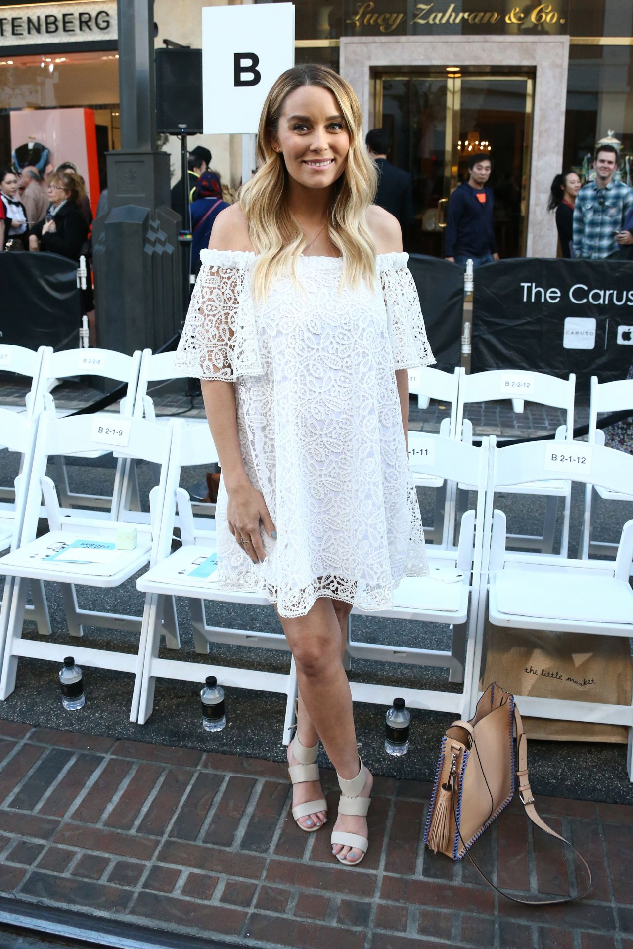 Lauren Conrad - Rebecca Minkoff Fashion Show in Los ... Lauren Conrad 2017 Style