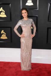 Lauren Diagle on Red Carpet – GRAMMY Awards in Los Angeles 2/12/ 2017