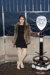 Lauren Giraldo - Visits The Empire State Building in New York 1/31/ 2017