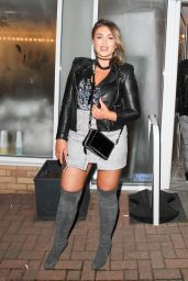 Lauren Goodger - Out in Loughton for the Launch Party of the By Georgina Hair Salon in Essex, Feb 2017