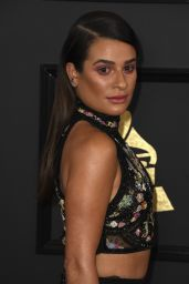 Lea Michele at GRAMMY Awards in Los Angeles  2/12/ 2017