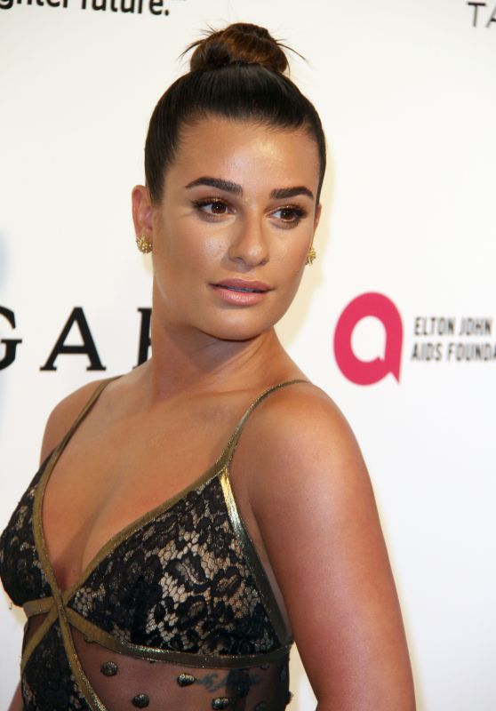 Lea Michele – Elton John AIDS Foundation's Academy Awards 2017 Viewing Party in West Hollywood