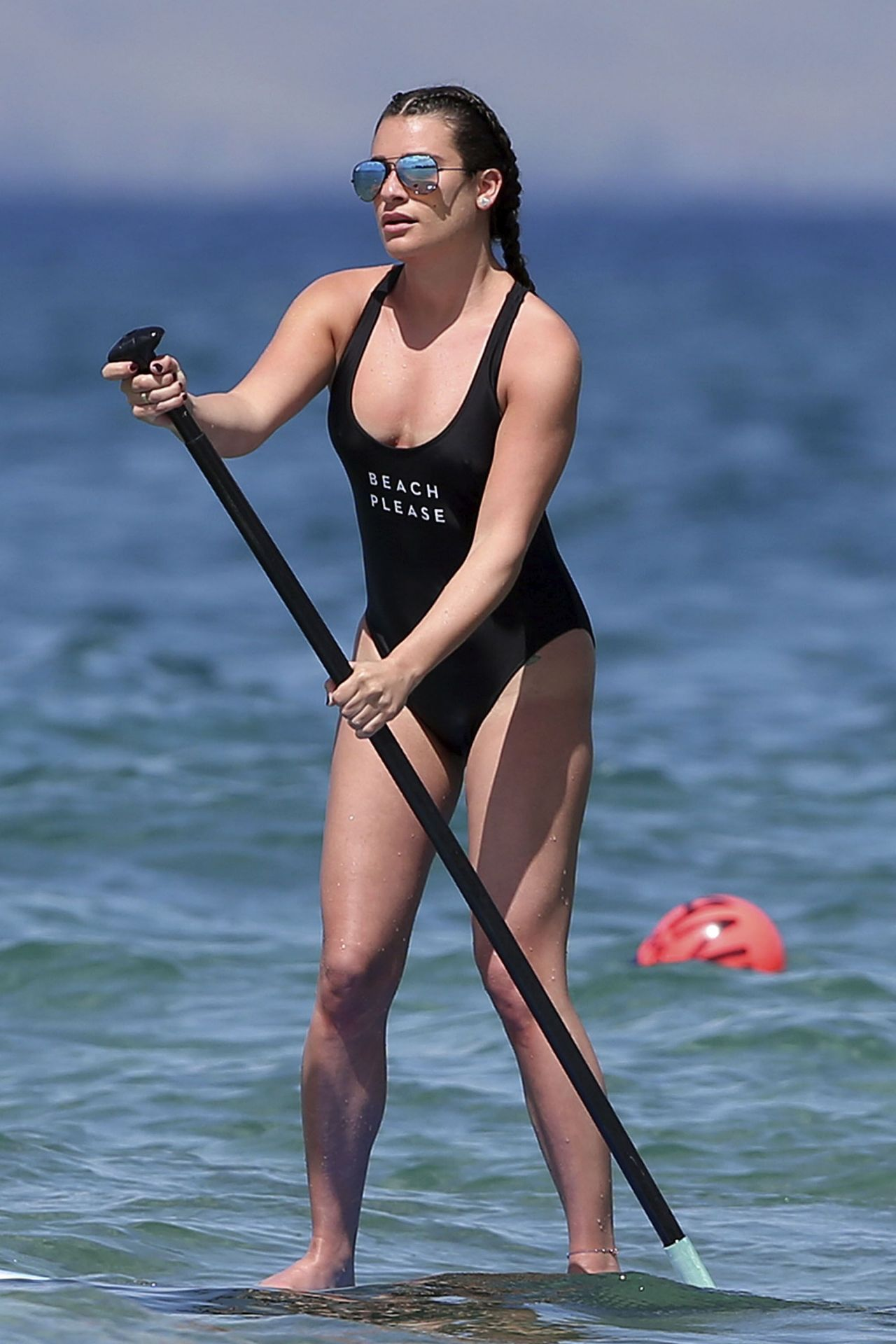 Lea Michele In Swimsuit At A Beach In Hawaii 2 22 2017