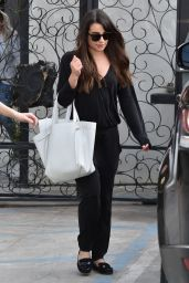 Lea Michele Street Style - Out in Los Angeles 2/13/ 2017