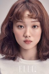 Lee Sung Kyung - Elle Magazine February 2017 Issue