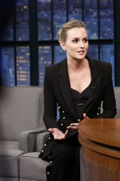 Leighton Meester - Late Night With Seth Meyers 2/23/ 2017