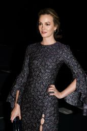 Leighton Meester – Prabal Gurung Fashion Show in New York 2/12/ 2017