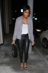 LeToya Luckett in Leather - Catch LA in West Hollywood 2/20/ 2017