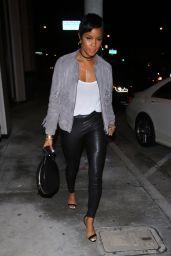 LeToya Luckett in Leather - Catch LA in West Hollywood 2/20/ 2017