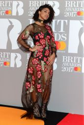 Lianne La Havas – The Brit Awards at O2 Arena in London 2/22/ 2017