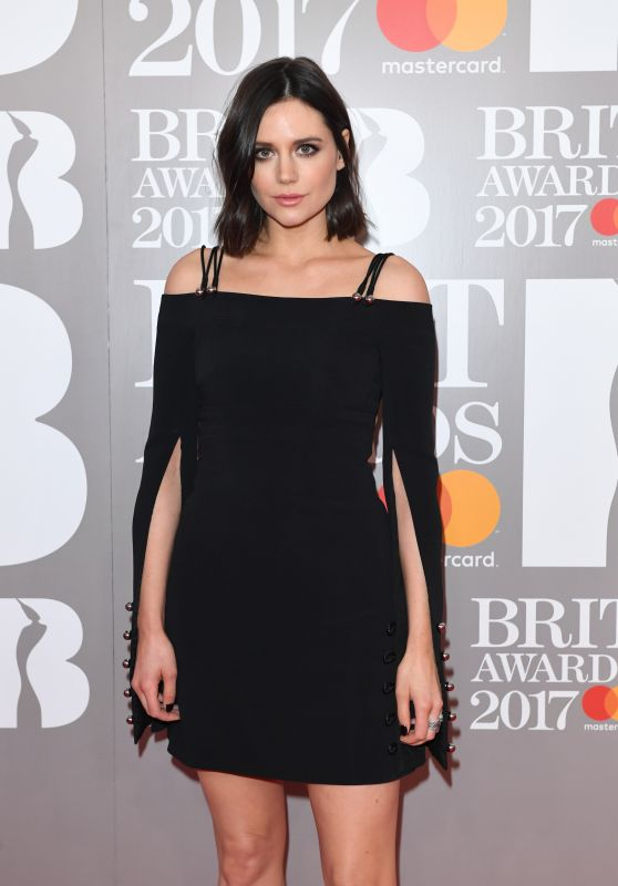 Lilah Parsons – The Brit Awards at O2 Arena in London 2/22/ 2017