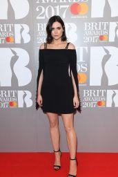 Lilah Parsons – The Brit Awards at O2 Arena in London 2/22/ 2017
