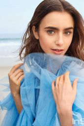 Lily Collins - Intyle Magazine US, 2017