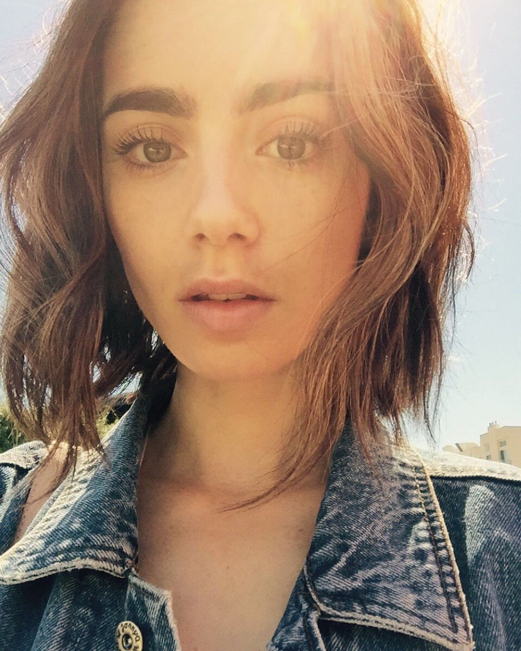 Lily Collins - Social ...