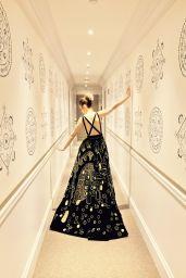 Lily Collins - Social Media Pics 2/5/ 2017
