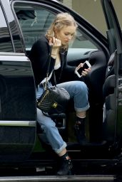 Lily Rose Depp - Arrives at a Studio in Los Angeles, CA 2/7/ 2017