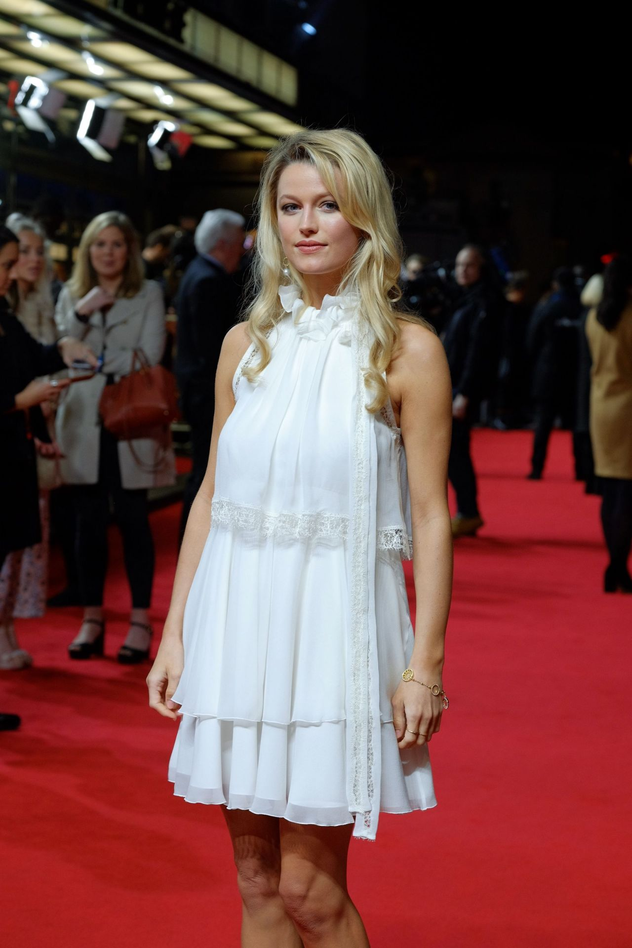 Lily Travers Viceroy S House Premiere In London 2 21 2017