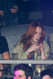 Lindsay Lohan - at Her Own Club