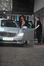 Lindsay Lohan - Leaving the ITV Studios in London 2/21/ 2017