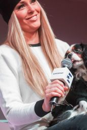 Lindsey Vonn - Eurosport Press Conference Regarding TV Series