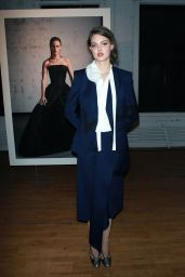 Lindsey Wixson - Zac Posen Presentation at New York Fashion Week 2/4/ 2017