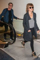 Lisa Rinna at LAX Airport in Los Angeles 2/12/ 2017