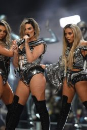 Little Mix - Performs at Brit Awards in London 2/22/ 2017