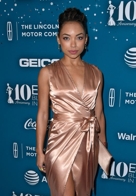 Logan Browning – Essence Black Women in Hollywood Awards in Los Angeles 2/23/ 2017