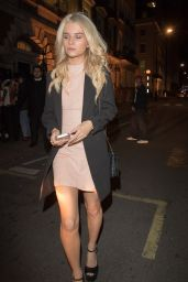 Lottie Moss - Arriving at the Burberry After Show Party at the Annabel