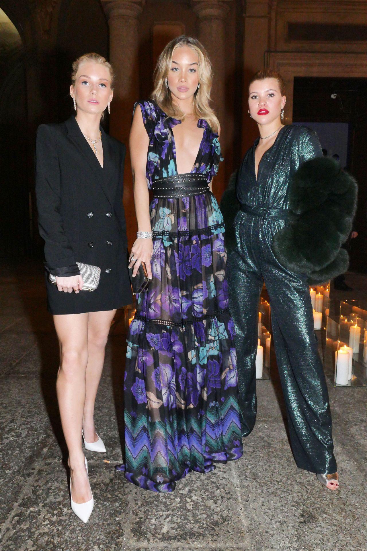 Lottie Moss, Jasmine Sanders & Sofia Richie – Vogue Italia and Place Vendome Party in Milan 2/24/ 2017