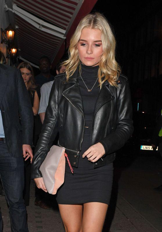 Lottie Moss Night Out Style - London, UK 2/2/ 2017