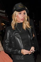 Lottie Moss Night Out Style - London, UK 2/2/ 2017