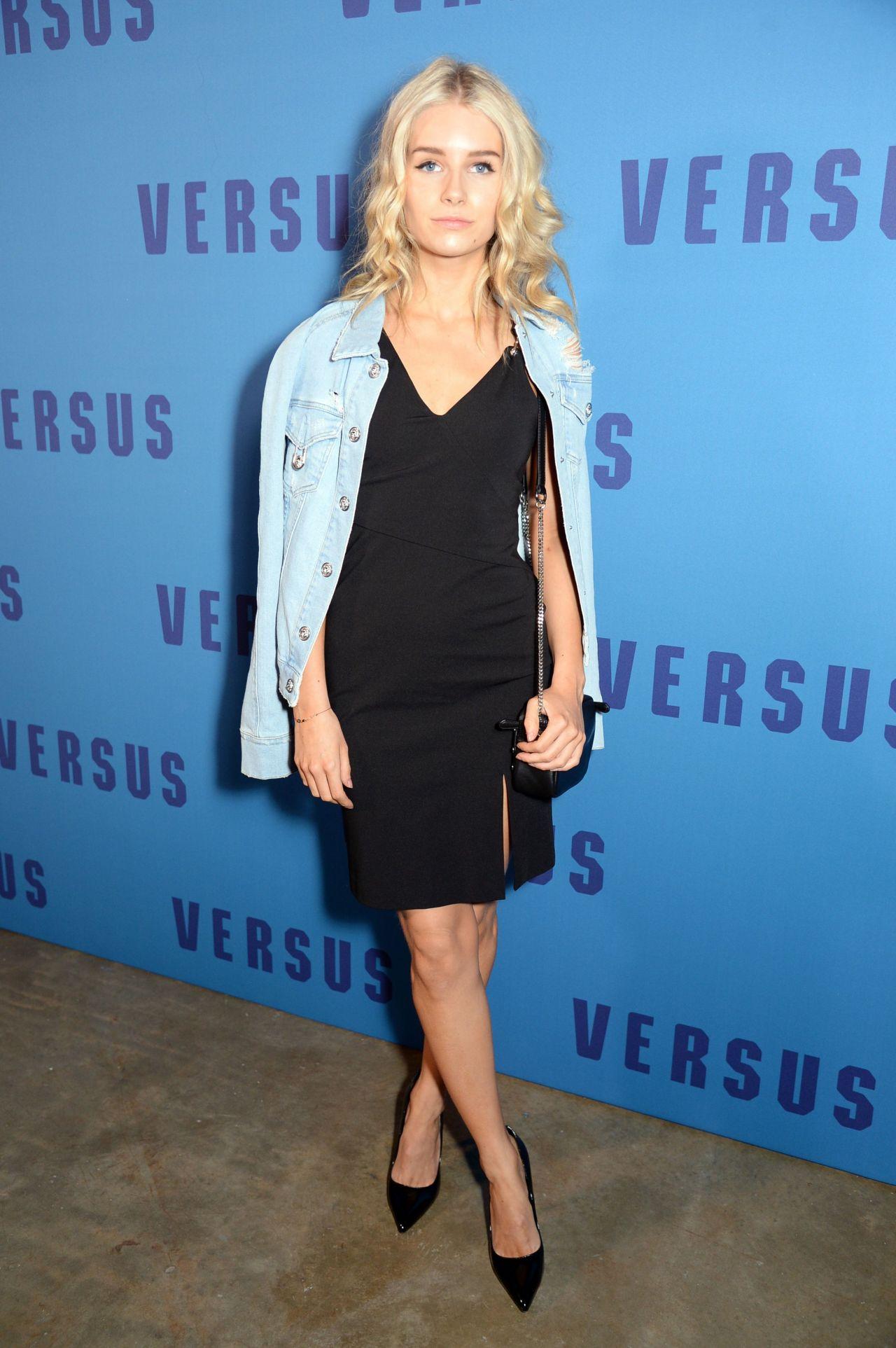 Lottie Moss - Versace VERSUS Fashion Show in London 2/18/ 2017