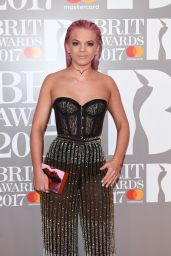 Louisa Johnson – The Brit Awards at O2 Arena in London 2/22/ 2017