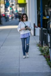 Lucy Hale Casual Style - Out in Beverly Hills 1/31/ 2017