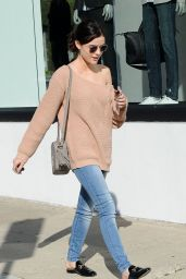 Lucy Hale - Shopping in Los Angeles 1/30/ 2017