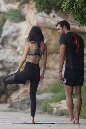 Lucy Watson - Morning Yoga Class by the Sea in Sydney 2/24/ 2017