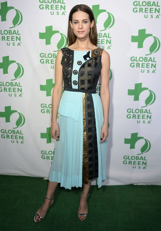 Lyndsy Fonseca - Global Green Pre Oscar Party in Los Angeles 2/22/ 2017