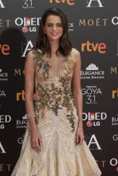 Macarena Gómez – Goya Awards in Madrid 02/06/ 2016
