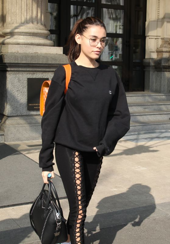 Madison Beer - Departing Milan After Attending Fashion Week 2/27/2017