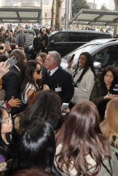 Madison Beer - Greeted by Fans on the Street in Milan, Italy 2/24/ 2017